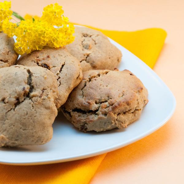 Biscuits Raisins / Noix de Cajou Sans Gluten