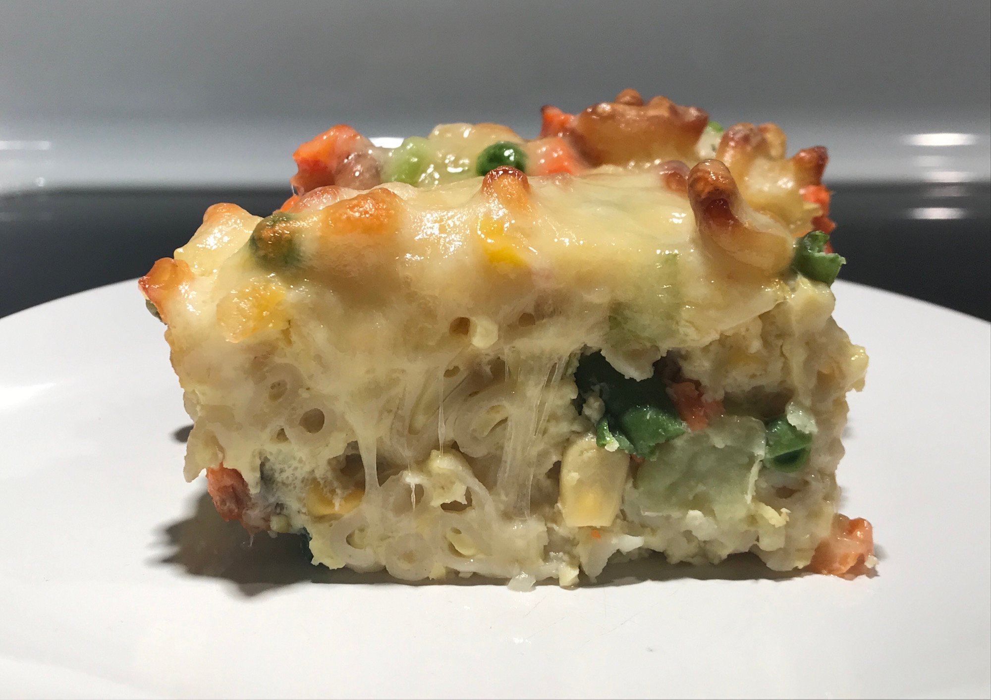 Photo Recette Omelette Mac & Cheese