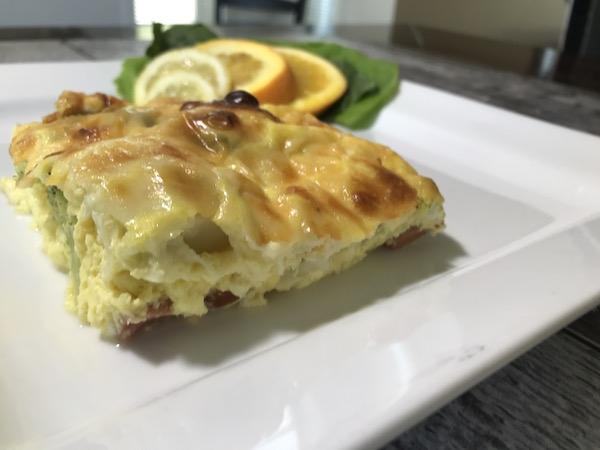 Omelette Saucisses et Double Fromage 3