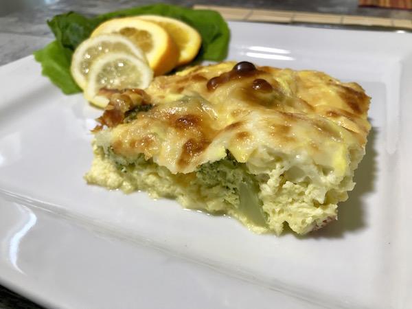 Omelette Saucisses et Double Fromage 4