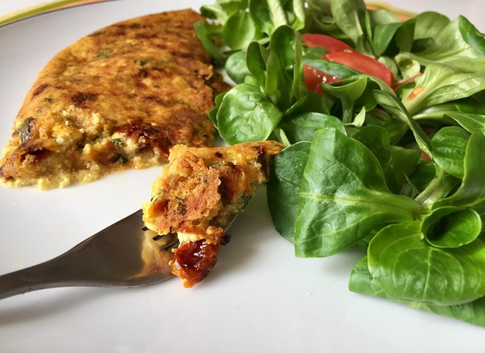 Omelette Vegan Sans Oeuf