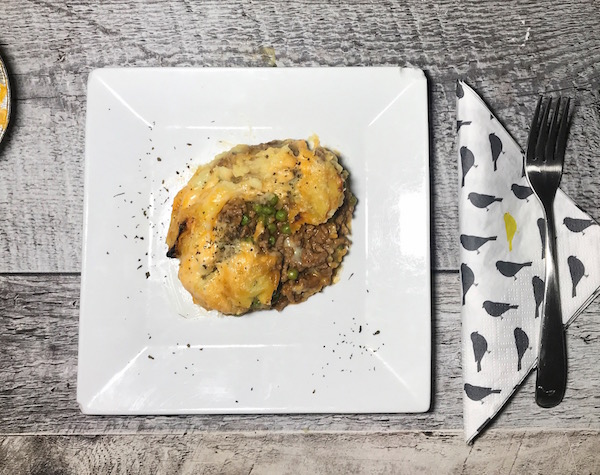 Pâté de Boeuf Légumes Gratinés 3