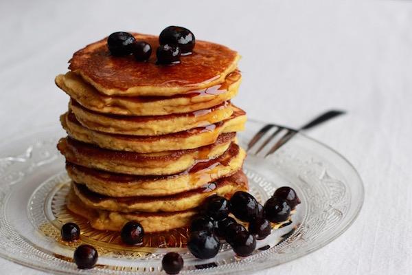 Photo Recette Pancakes {pauvres en glucides, sans gluten & sans lait}
