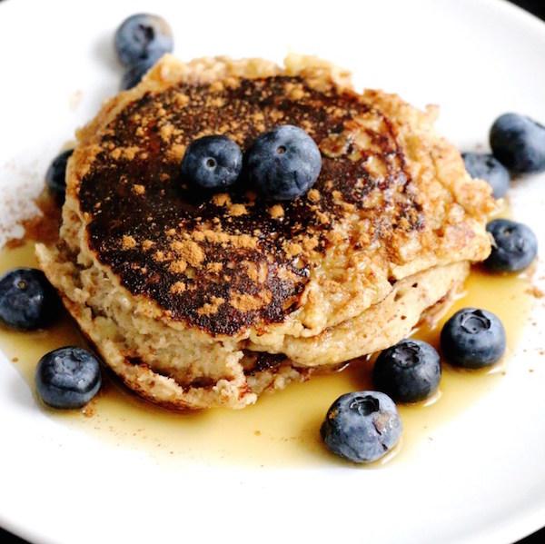 Pancakes Sans Gluten à la Banane