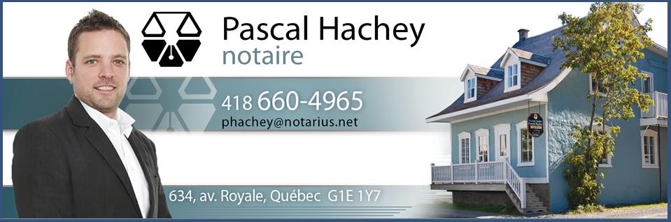Pascal Hachey Notaire en Ligne