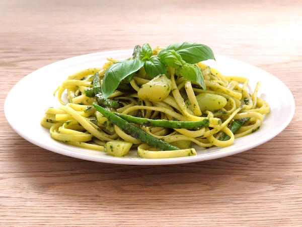Pasta Col Pesto (Pâtes au pistou)