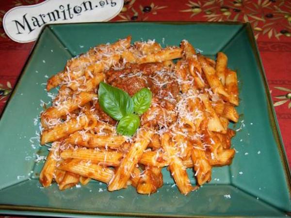 Photo Recette Pastaciutta ( Italie )