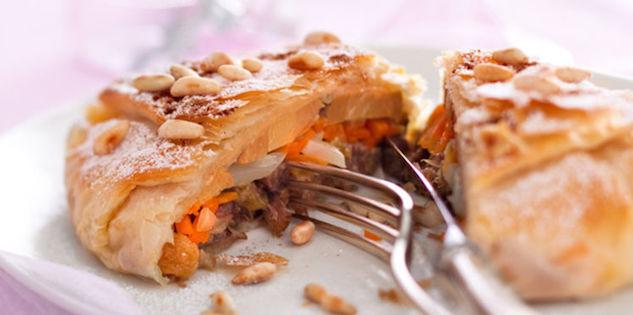 Pastillas au Canard et Foie Gras Frais