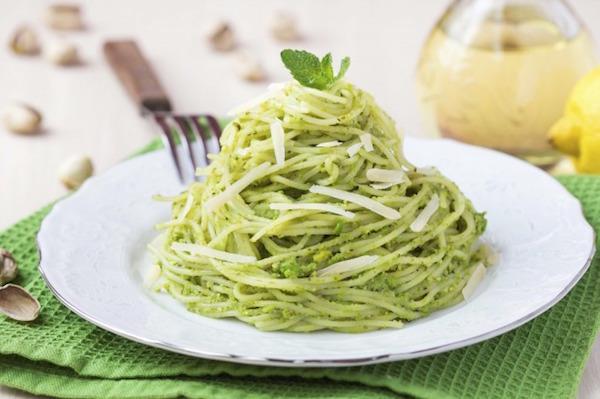 Pâtes au Pesto de Basilic