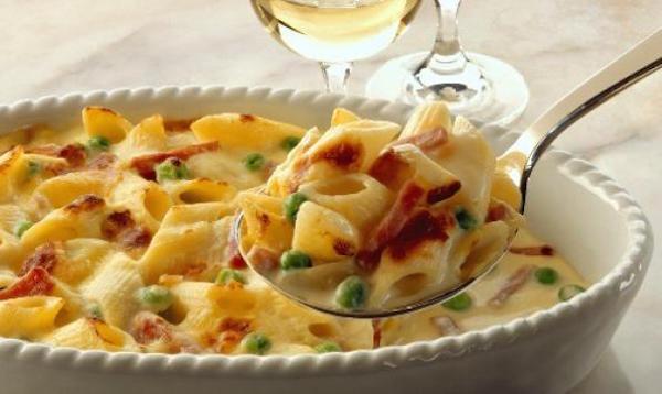 Pâtes avec Pepperoni et Provolone au Four