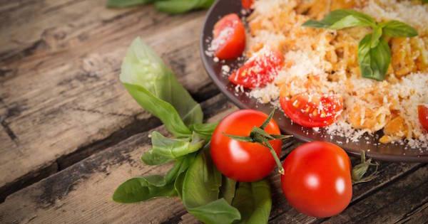 Pâtes Fraîches aux Champignons et Tomates Séchées