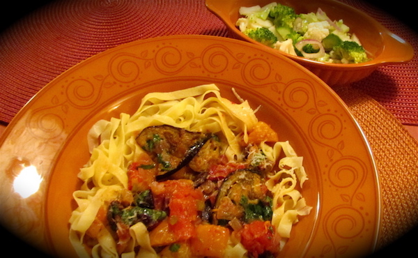 Pâtes Fraîches aux Légumes Grillés, Recette de Base