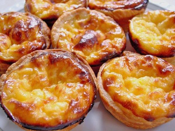 Photo Recette Petits flans portugais (Pastéis de natas)