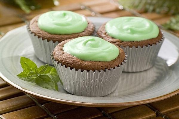 Photo Recette Petits Gâteaux Brownies Chipits à la Menthe