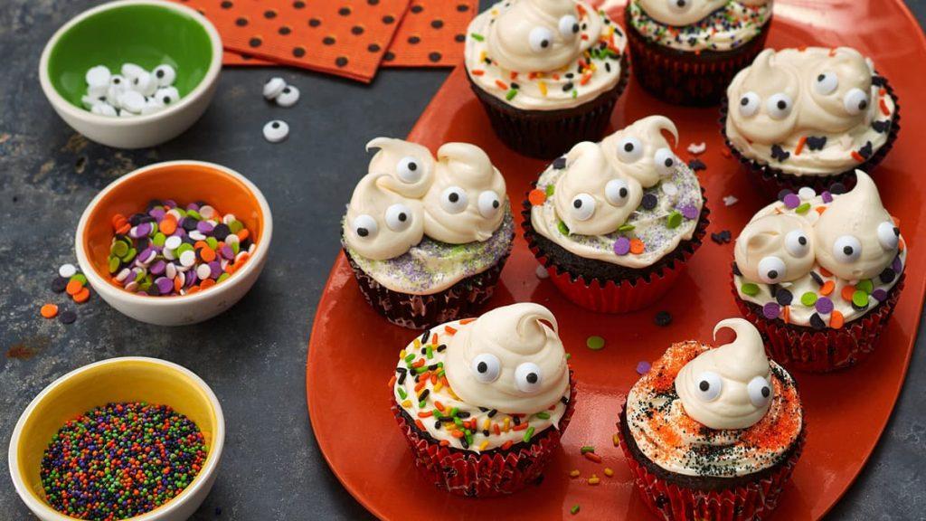 Petits Gâteaux Effrayants pour l'Halloween
