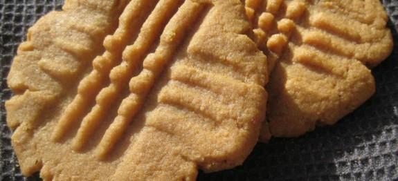 Petits Sablés au Beurre de Cacahuète