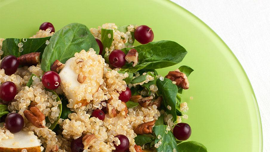Pilaf au Quinoa et aux Canneberges