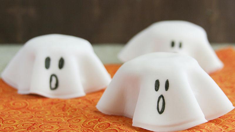 Piles de Biscuits Fantômes de L'Halloween