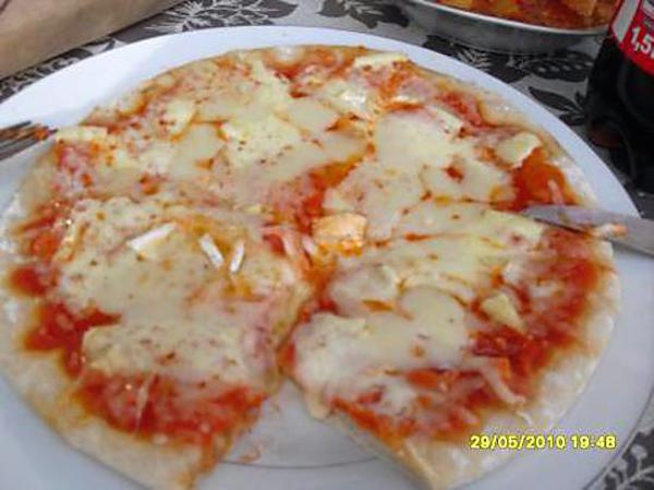 Photo Recette Pizza 3 Fromages