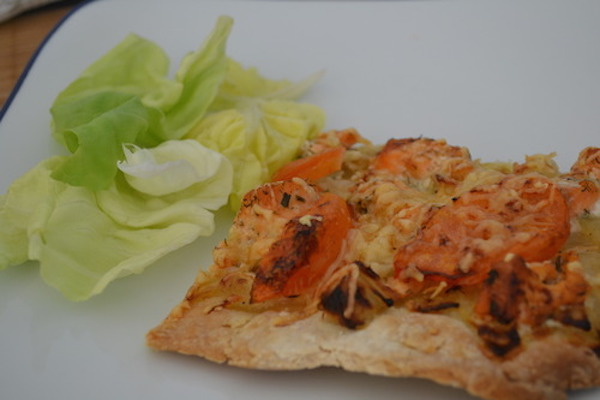 Pizza au Saumon Frais