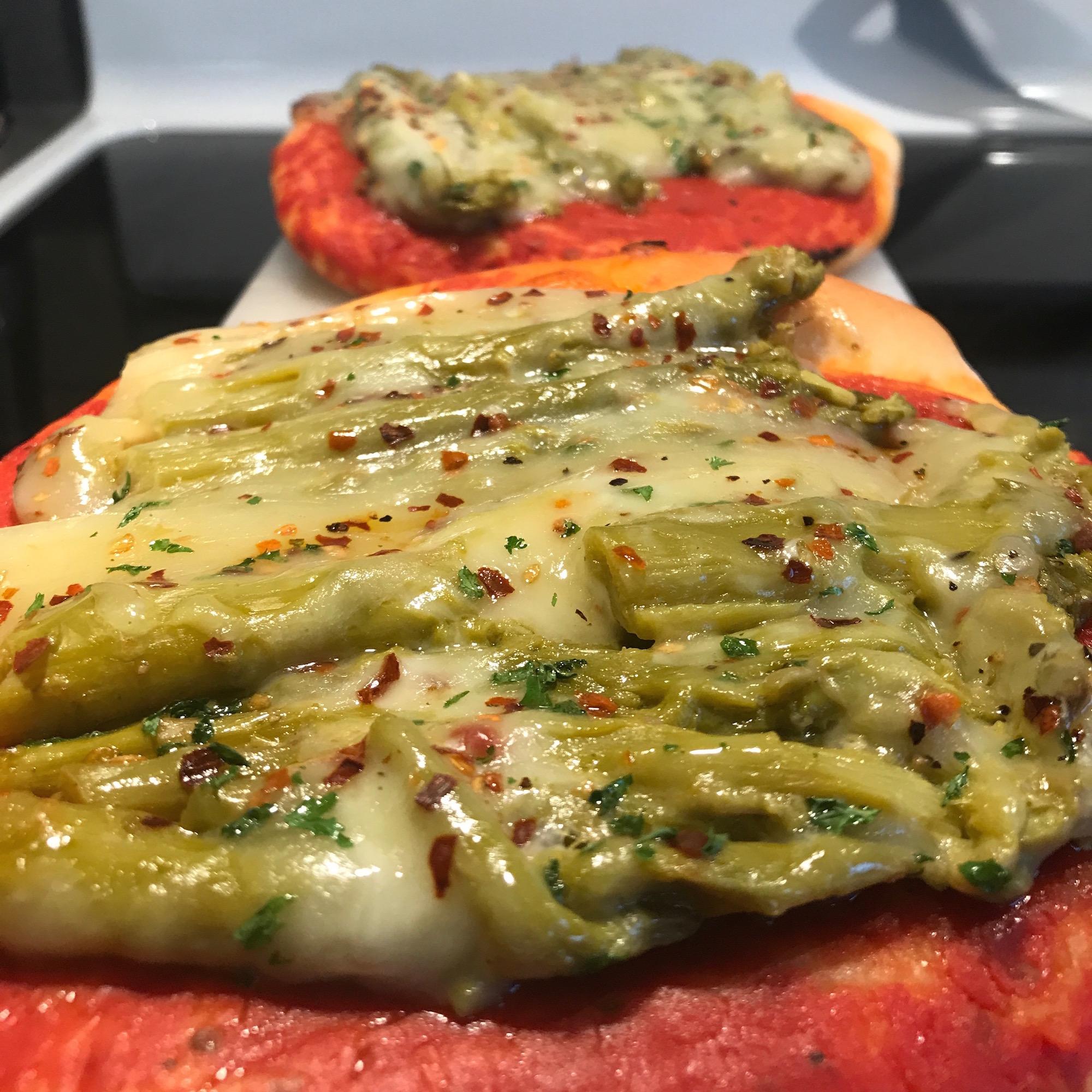 Photo Recette Pizza aux Asperges