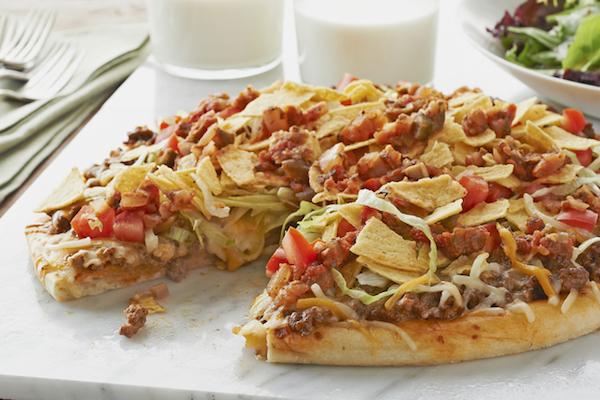 Pizza aux Tacos
