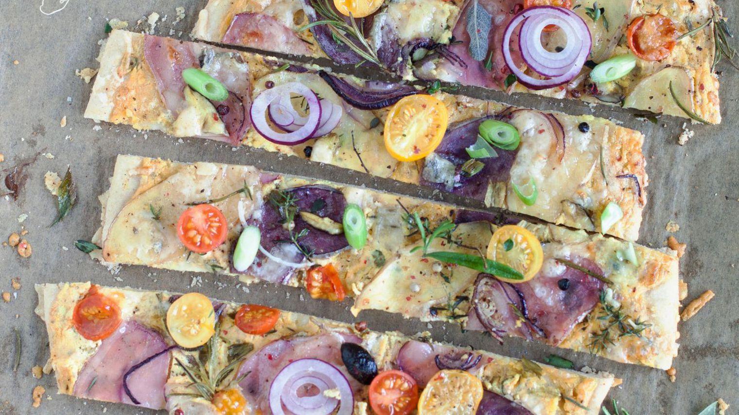 Pizza Blanche aux Pommes de Terre (Bianca di Patate)