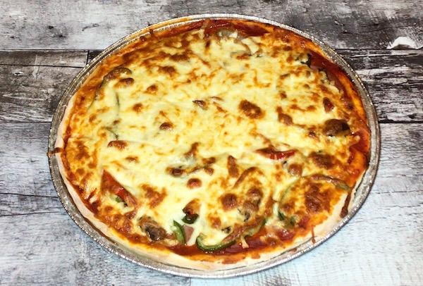 Pizza Maison cuite