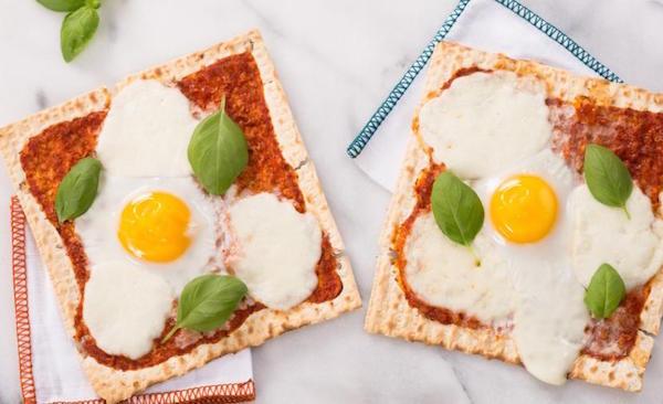 Pizza Margherita sur Pain Azyme