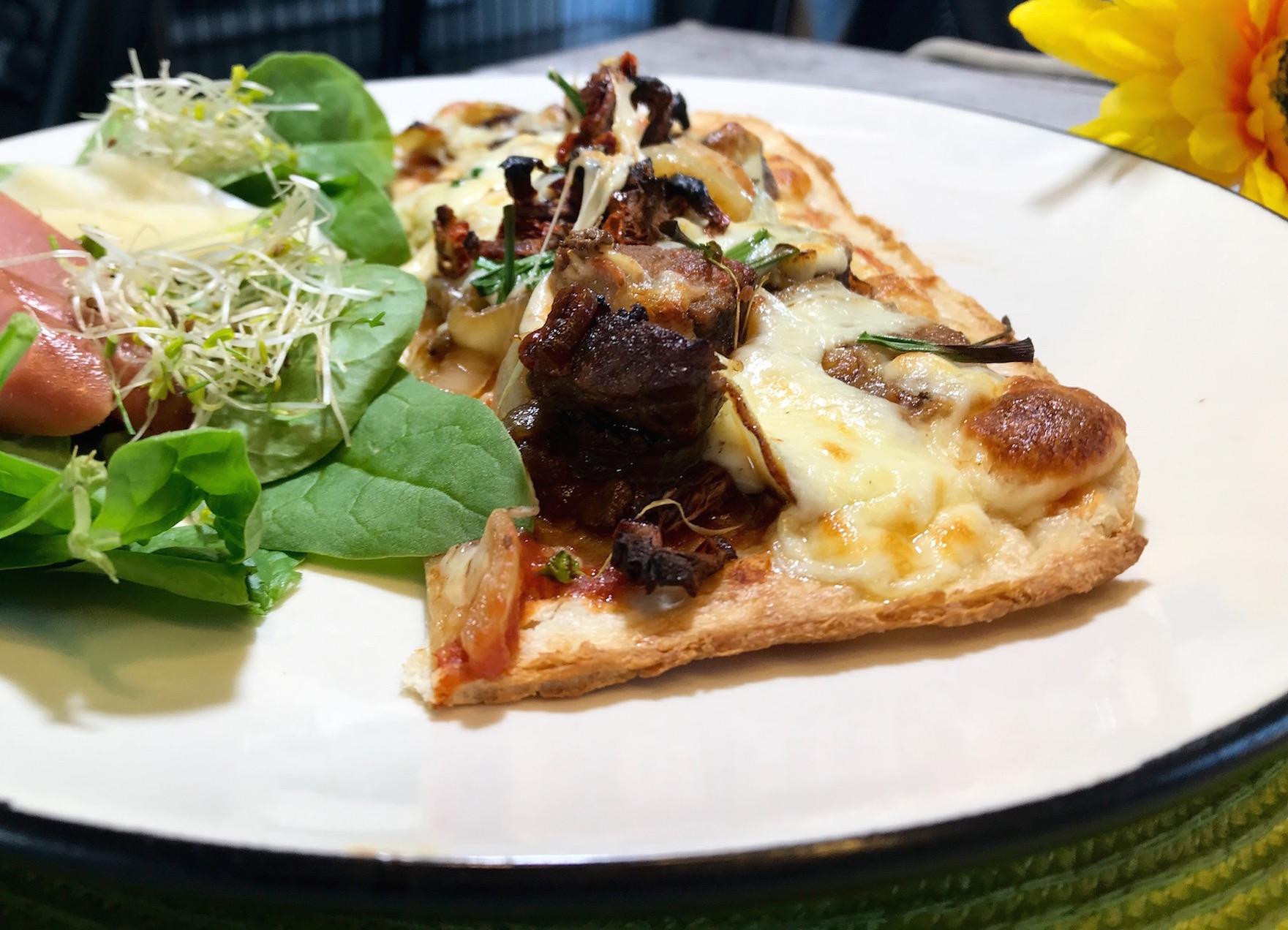 Photo Recette Pizza Santé sur Croûte Mince