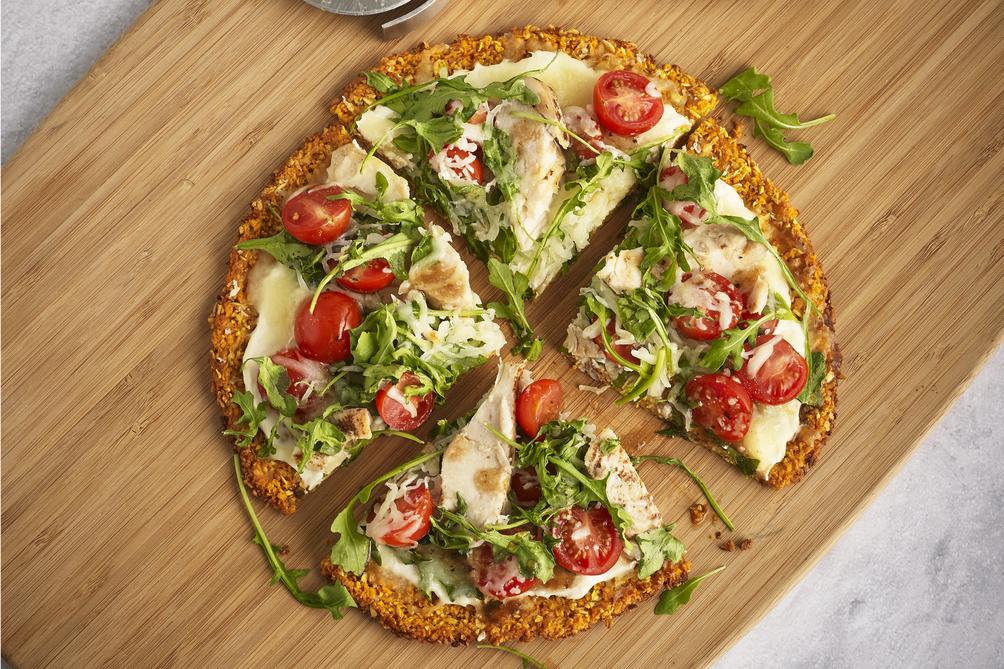 Photo Recette Pizza sur Croûte de Patate Douce