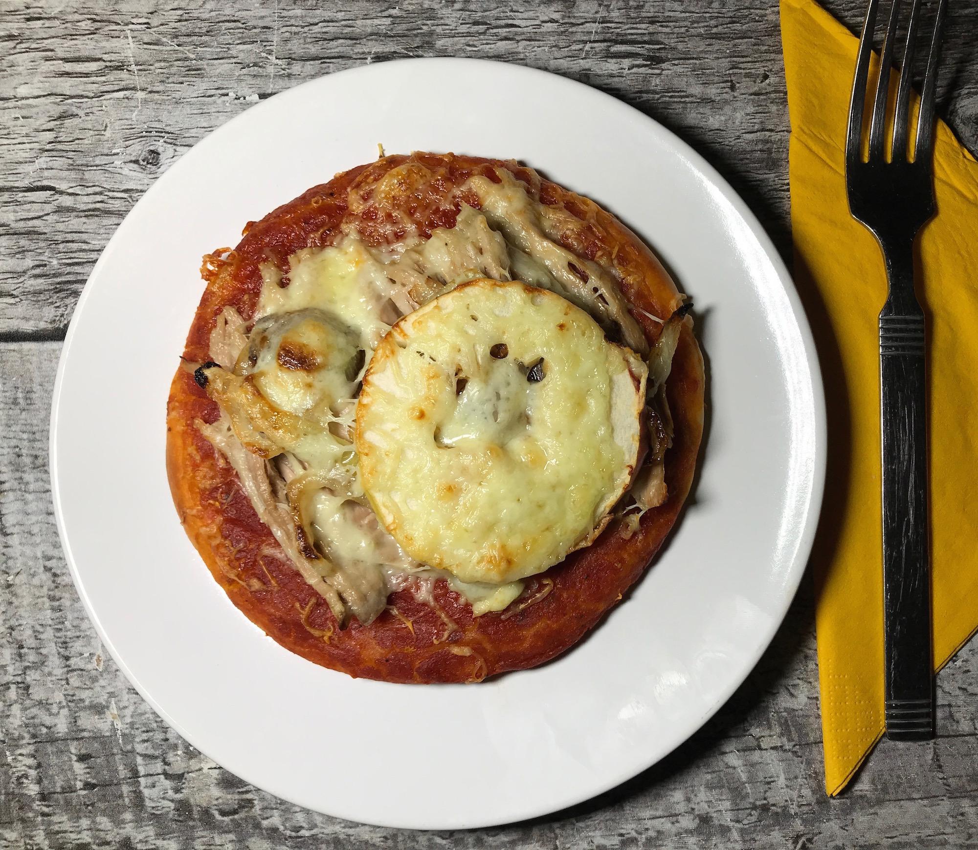 Photo Recette Pizza Tomate Porc et Pommes