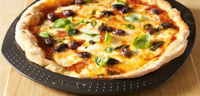 Pizza Tomates Basilic