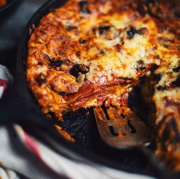 PIZZA TORTILLAS DE LA MORT