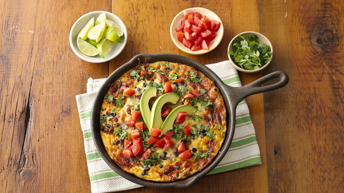 Poêlée Déjeuner Mexicaine au Chorizo Incroyablement Facile