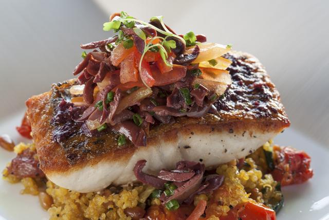 Photo Recette Poisson Grillé et Quinoa aux Légumes