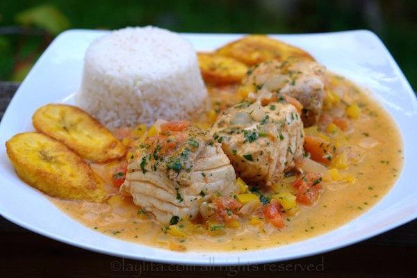 Photo Recette Poisson Sauce Noix de Coco