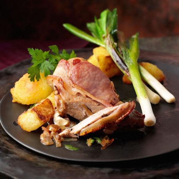 Poitrine de Faisan au Bacon et au Cidre