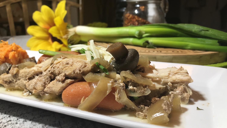 Poitrine de Poulet et Légumes à la Mijoteuse