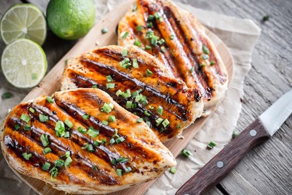 Photo Recette Poitrines de Poulet Grillées à la Sauce Sucré et Piquante