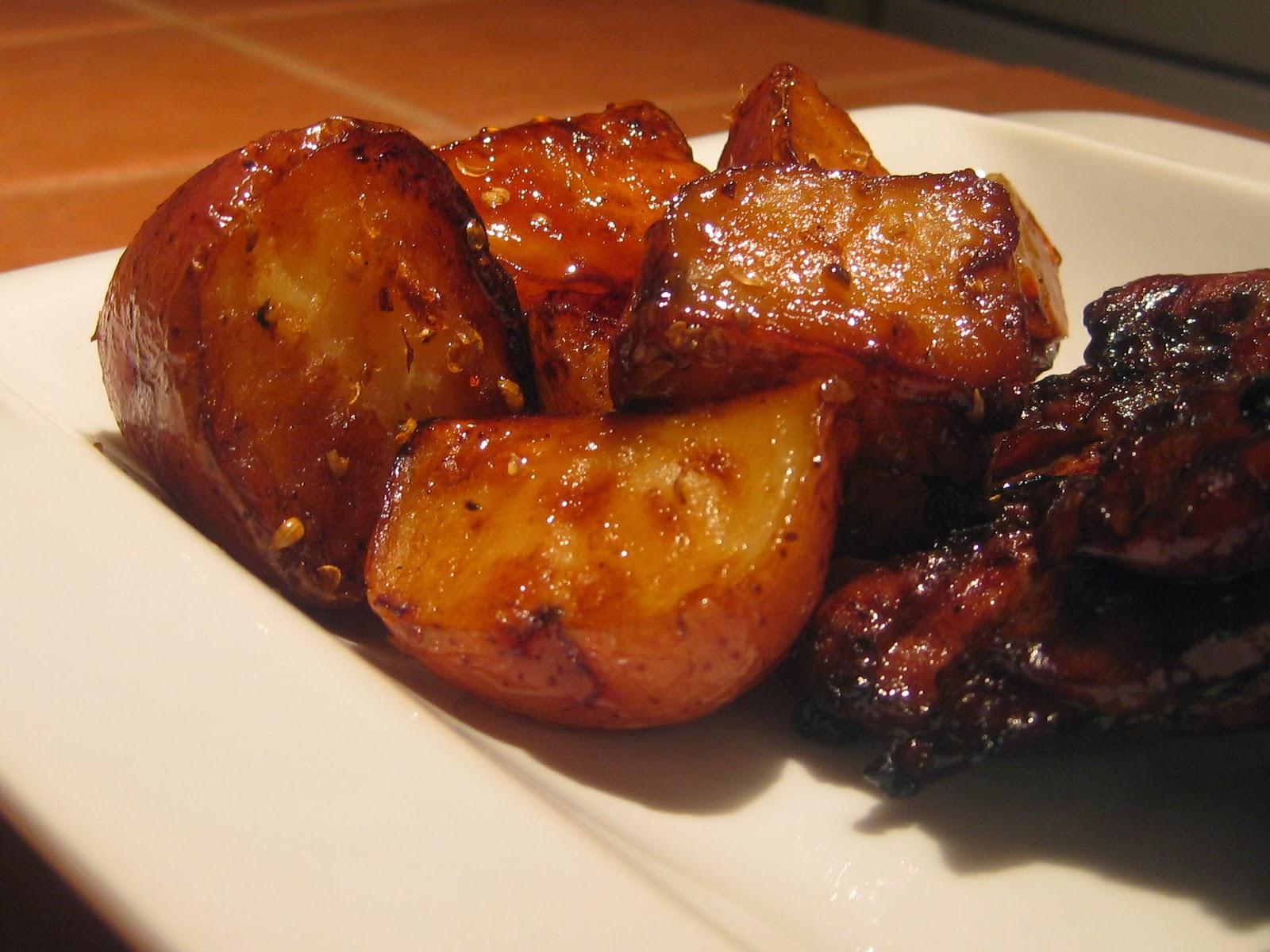 Photo Recette Pommes de Terre Grelots Rôties à L'érable