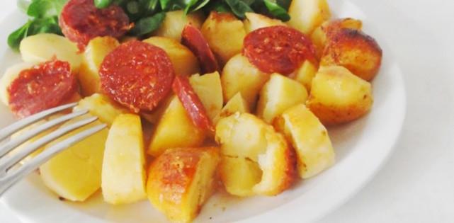 Pommes de Terre Sautées au Chorizo