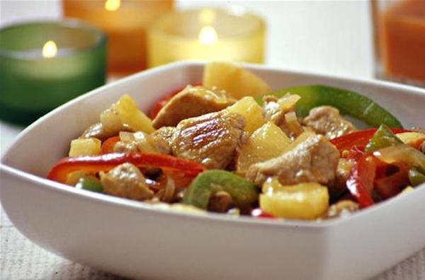 Photo Recette Porc à la Sauce Aigre-Douce