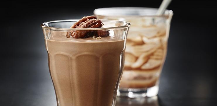 Pouding au Chocolat Noir, Café et Cardamome