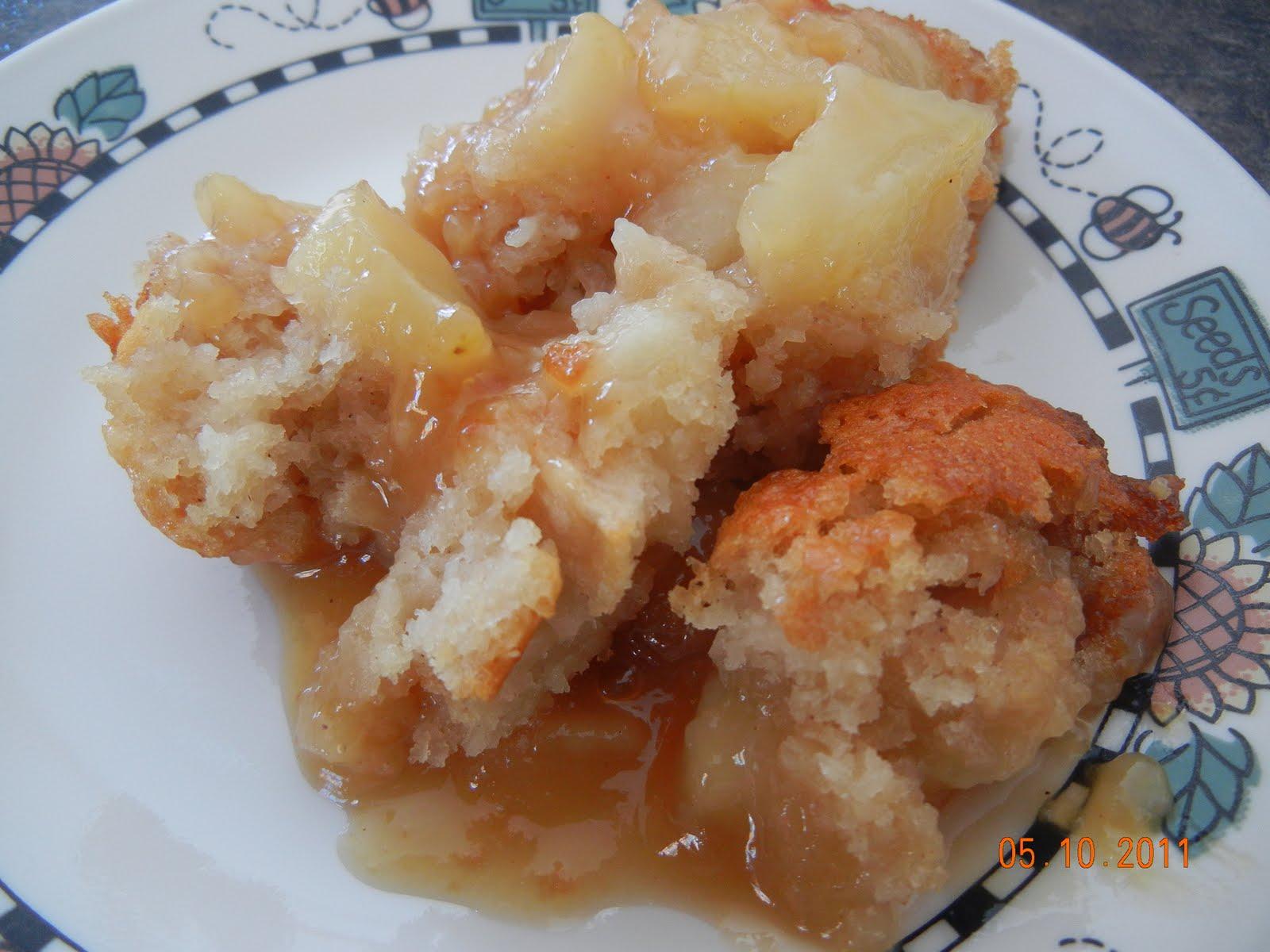 Pouding Chômeur aux Pommes Marylo