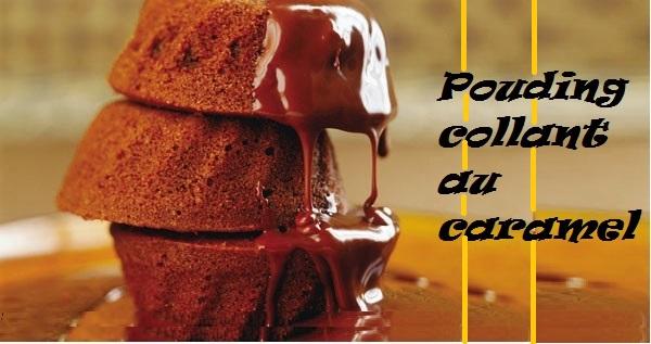 Pouding Collant au Caramel