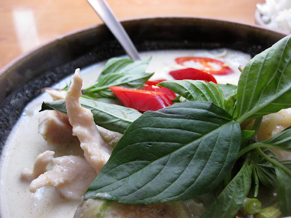 Poulet au Curry à la Thaïlandaise