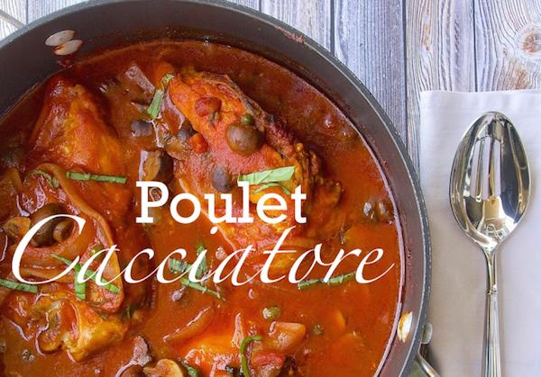 Poulet Cacciatore (poulet chasseur)