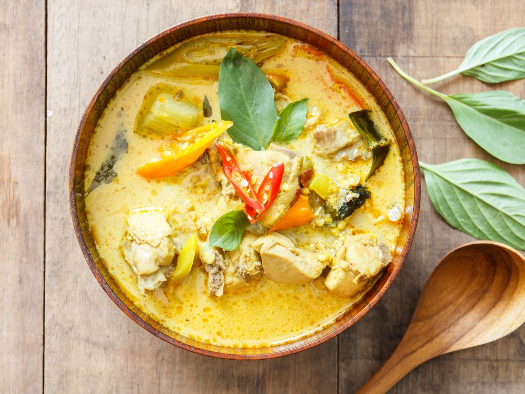 Poulet Curry Coco Simplissime