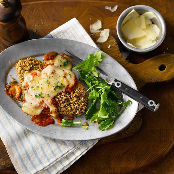 Poulet Parmesan Croustillant
